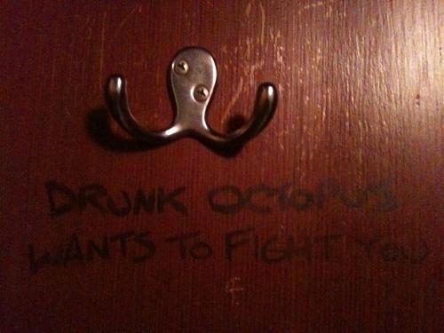 Пьяный осьминог