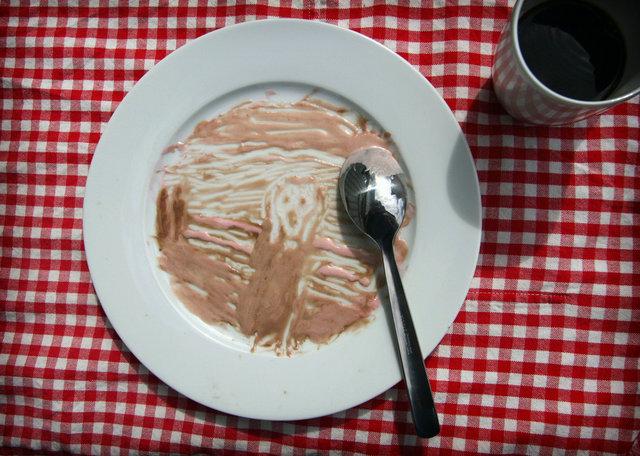 Картина в тарелке