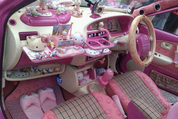 Машина для девушки