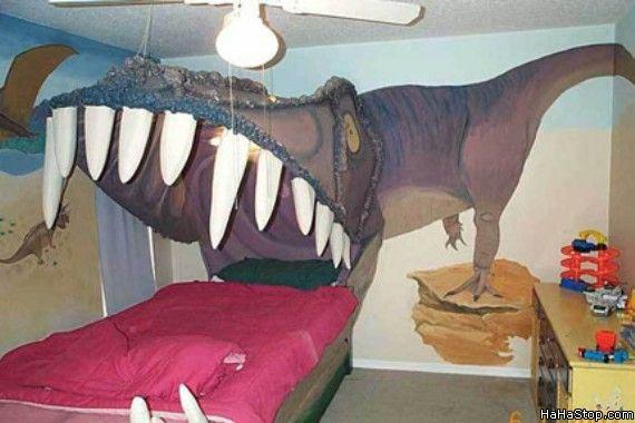 Кровать-тиранозавр