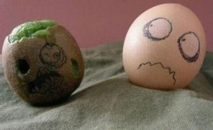 Яйцо-зомби