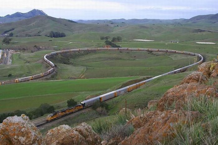 Разворот поезда