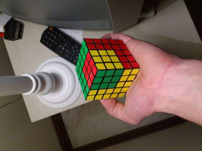 Сложный кубик Рубика