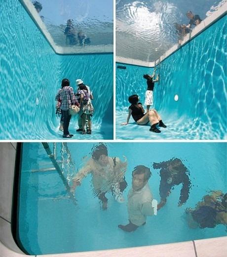Фейковый бассейн