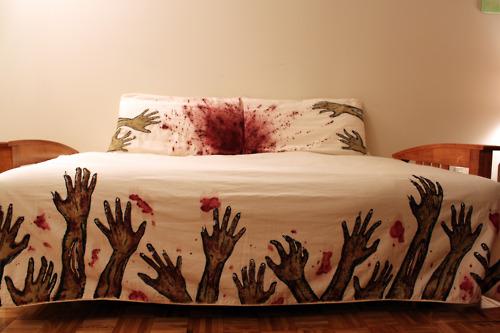 Креативное белье для кровати