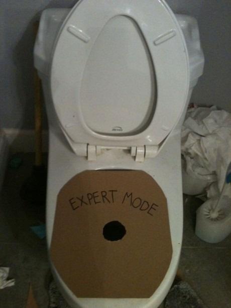 Туалет Expert Mode