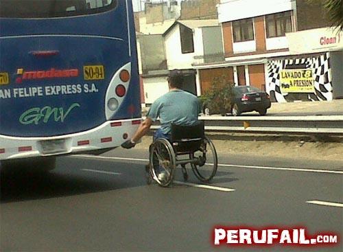 Заяц на инвалидной коляске