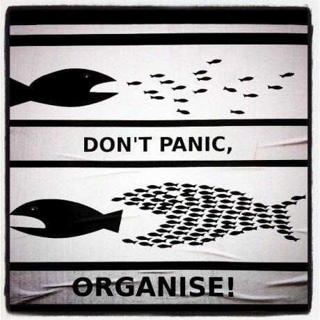 Не паникуй, организуй!
