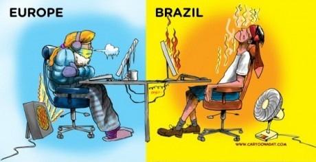 Europe vs Brazil