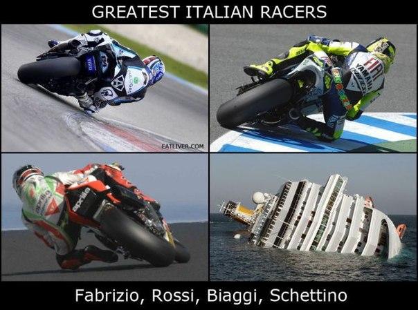 Лучшие итальянские гонщики