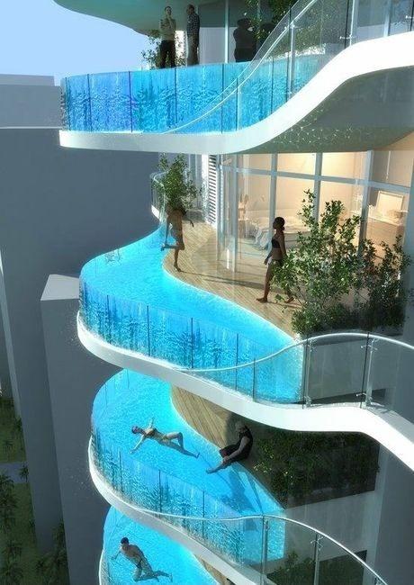 Отель с бассейнами