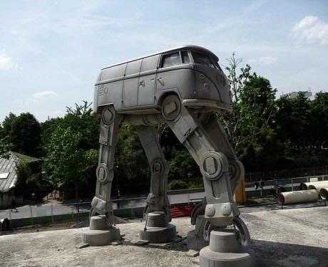 Самоходный фургон