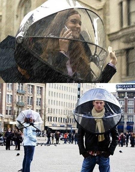 Новый вид зонтика