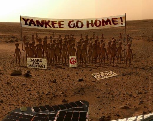 Американцы на Марсе