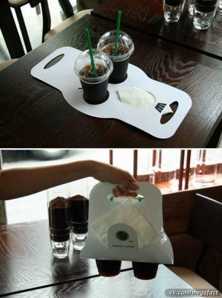 Переноска стаканов