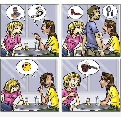 О чем говорят девушки