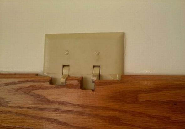 Место для выключателей