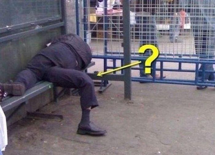 Нога?