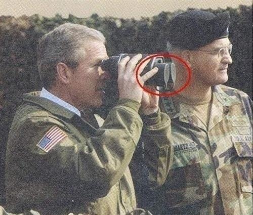 Буш отличился
