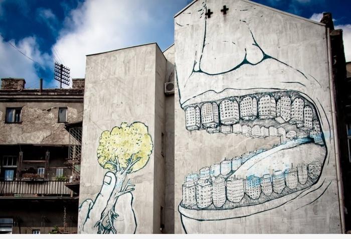Граффити про экологию