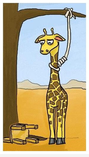 Жираф-самоубийца