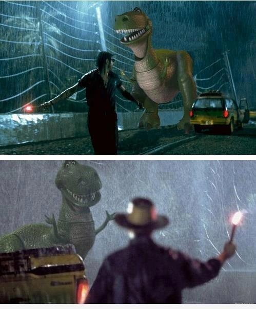 Jurassic Park vs Toy Story