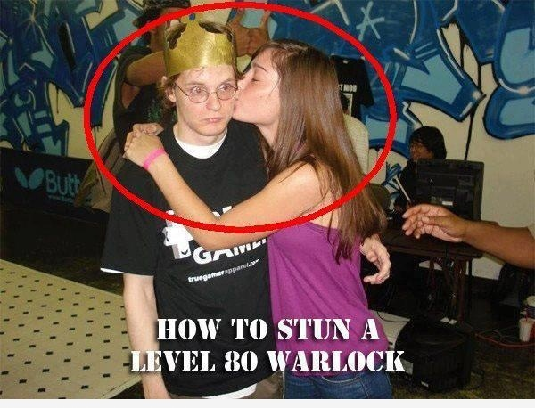 Как оглушить Варлока 80-го уровня