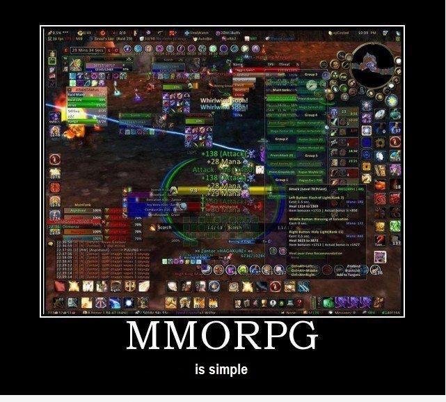 MMORPG это просто