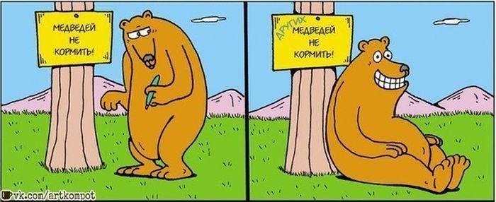 Медведей не кормить