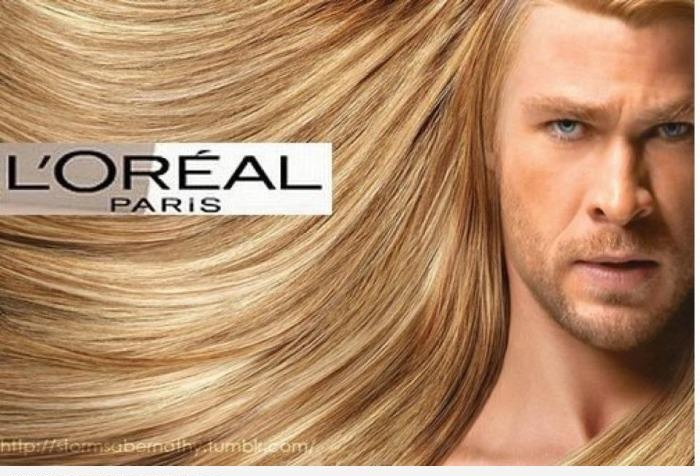 Тор в рекламе Лореаль
