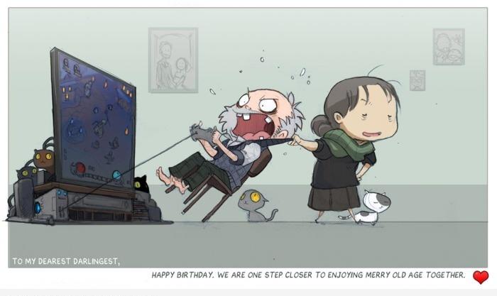 Геймеры в старости