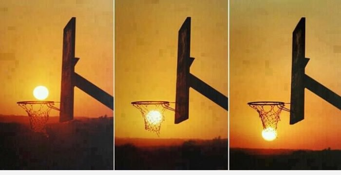 Солнце и баскет
