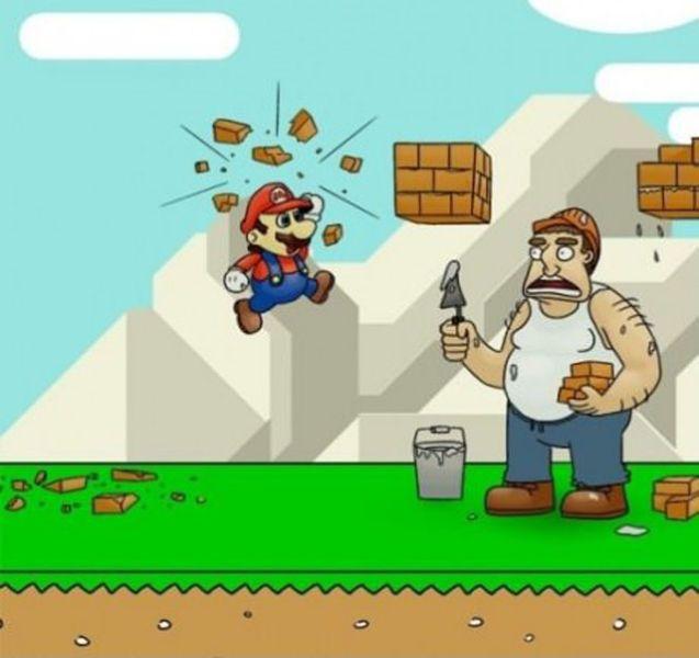 Марио против строителей