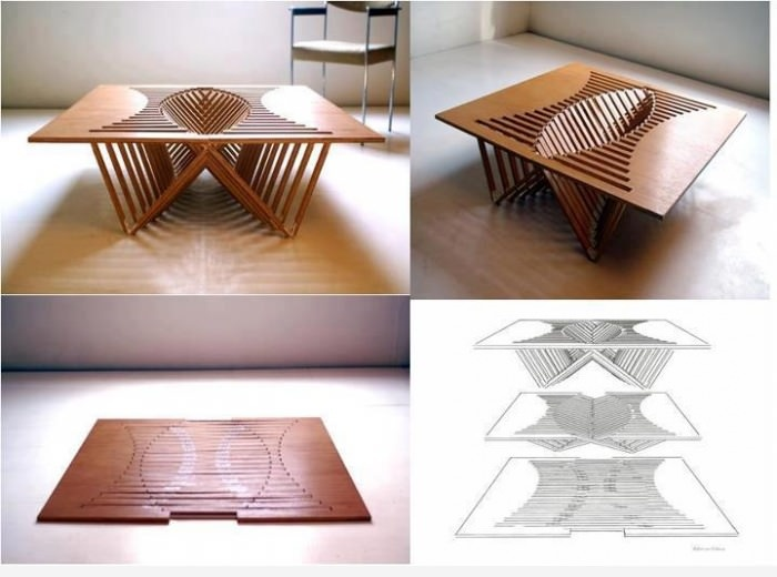 Плоский стол