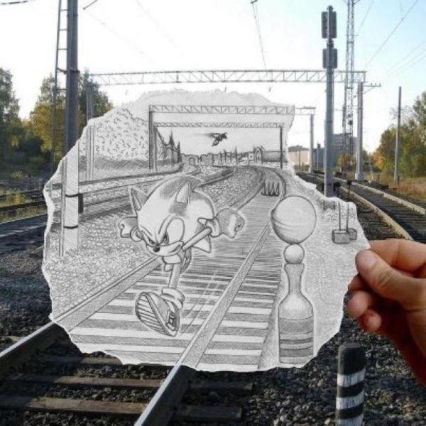 Sonic на ЖД