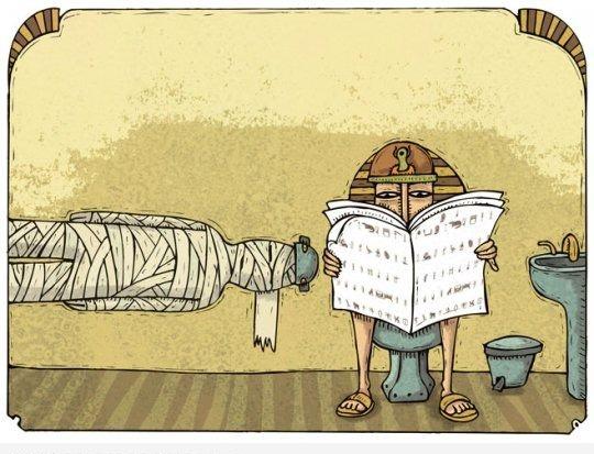 Туалет в древнем Египте