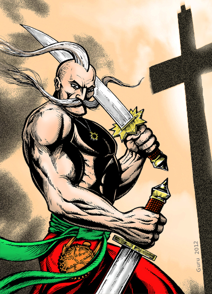 Казак-характерник Грицько Срака