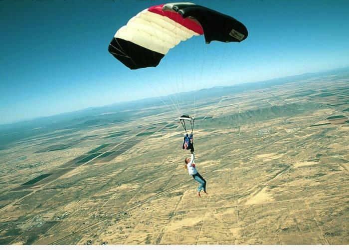 Прыжок на парашуте