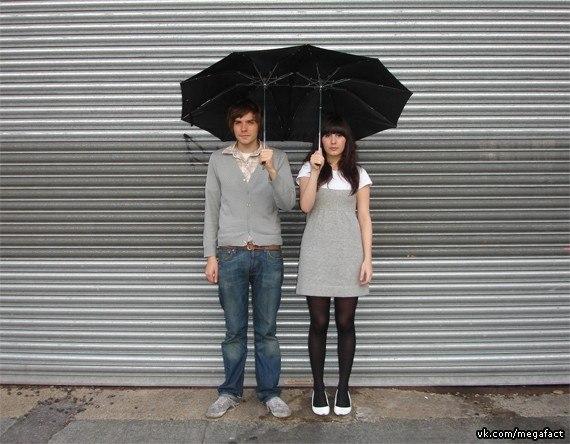Двойной зонтик