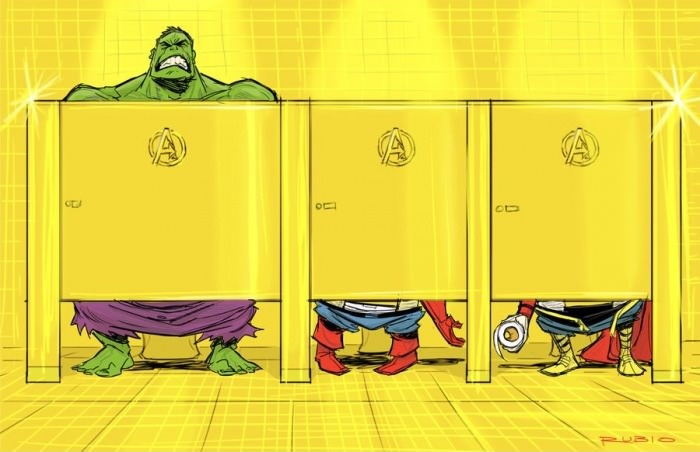 Штаб квартира Мстителей