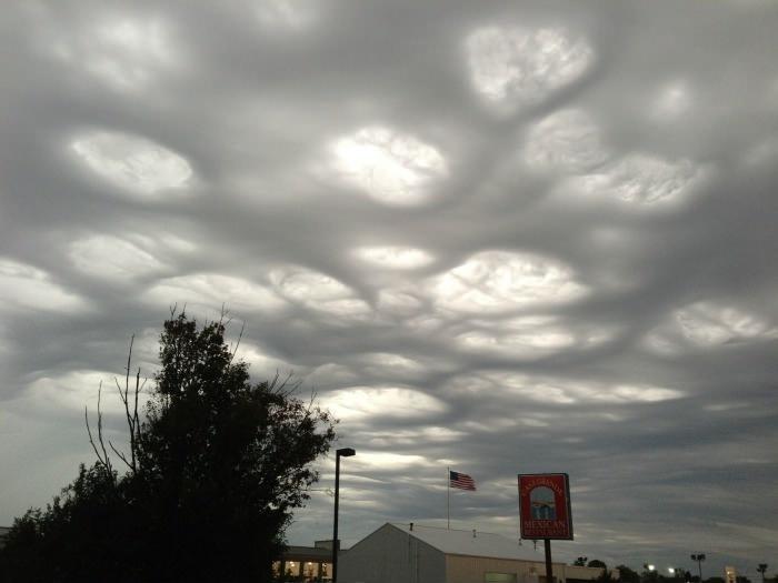 Дырки в облаках