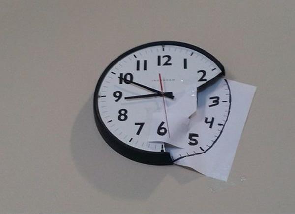 Починил часы