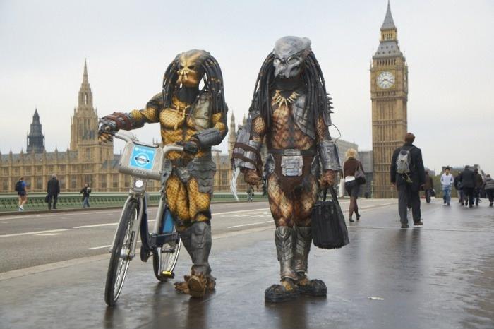 Хищники в Лондоне