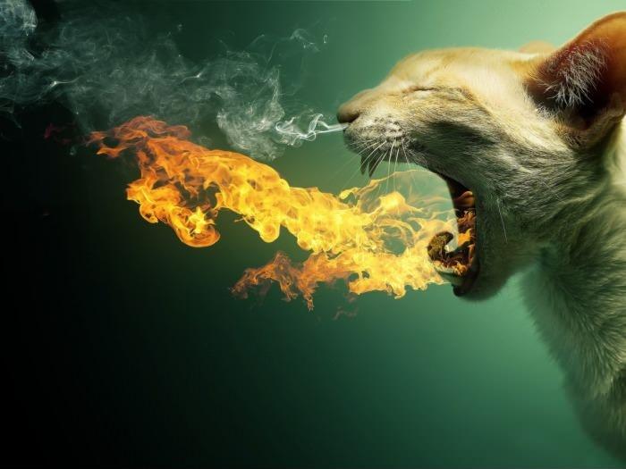 Извергающий пламя