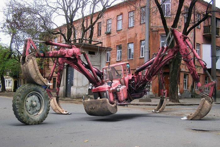Трактор-паук