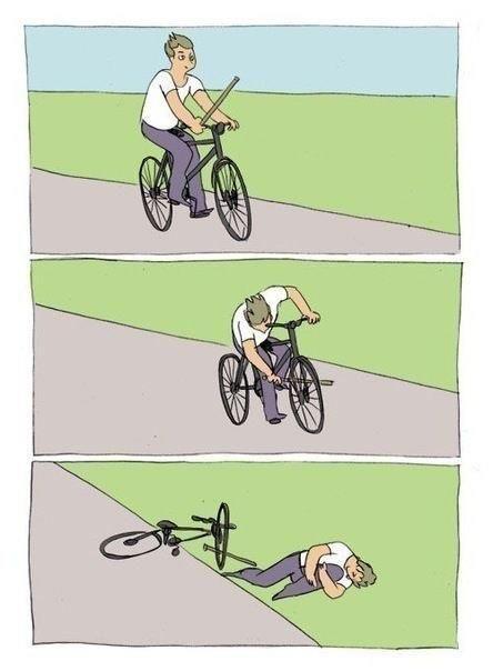 Палка в колеса