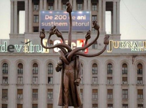 Интересная статуя