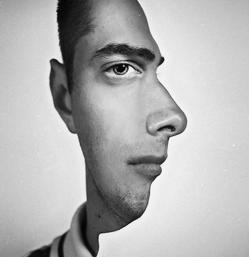 Лицо с двух сторон