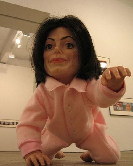 Жуткая кукла Джексона