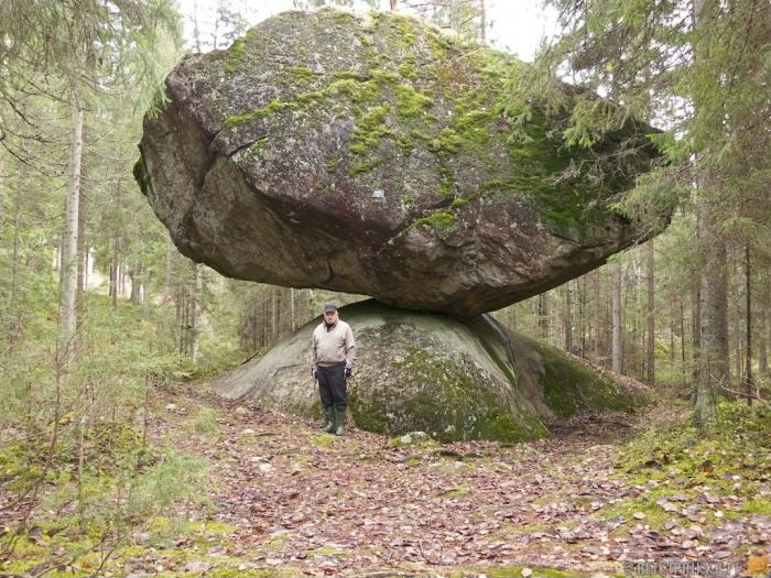 Камень в Финляндии